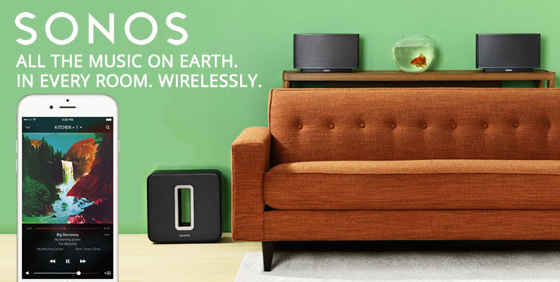 Sonos HiFi Wireless Speakers