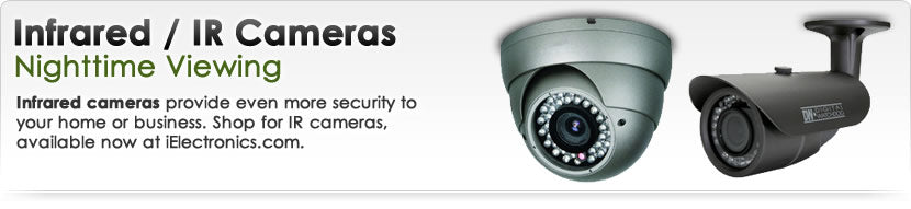 Infrared / IR Security Cameras