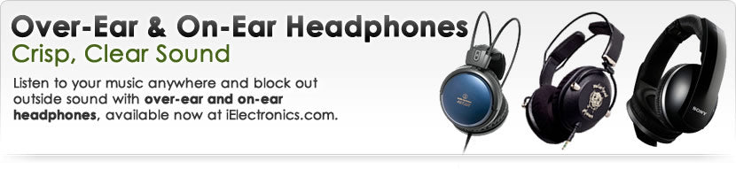 Over-Ear and On-Ear Headphones