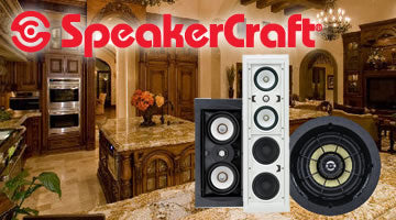 SpeakerCraft Built-In Speakers