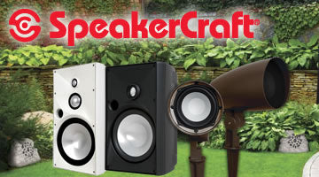 SpeakerCraft Outdoor Speakers