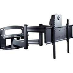 "Peerless PLAV70-UNLP Articulating Arm with Vertical Adjustment for 42-65"" Flat Panel Screens - Black"