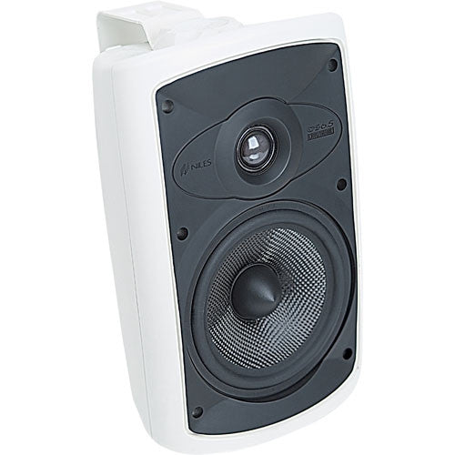 "Niles FG00994 OS6.5 6"" Outdoor Speakers 125W 2-Way - Pair (White)"