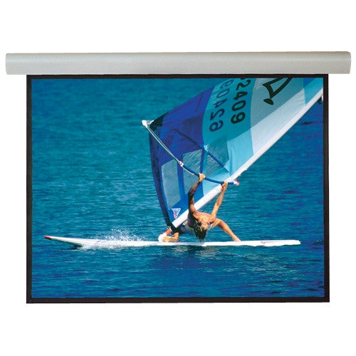 "Draper Silhouette 108392 Electric Projection Screen - 100"" - 16:9 - Wall Mount, Ceiling Mount"