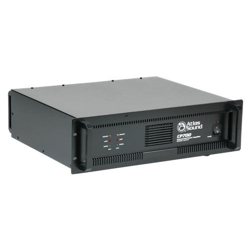 Atlas Sound CP700 Amplifier - 240 W RMS - 2 Channel - Black