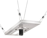 Peerless CMJ500R1 Lightweight Adjustable Suspended Ceiling Plate For Peerless Projector Mounts