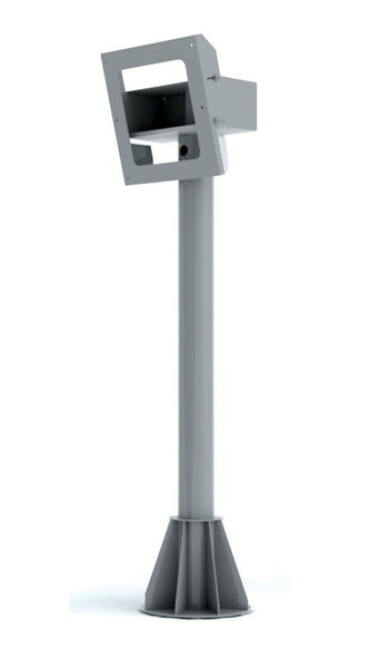Peerless FPEPM-06 Pedestal Mount for Protective Enclosures - 6'