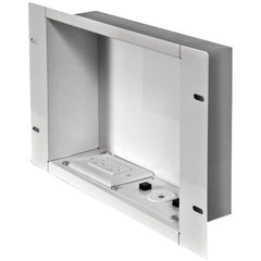 Peerless-AV Recessed Cable Managementand Power Storage Accessory Box With Surge Protected Du