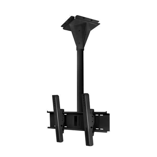 Peerless ECMU-03-I 3' Wind Rated I-beam Tilt Mount - Black