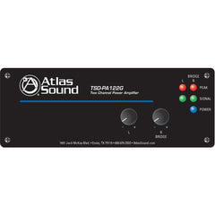 Atlas Sound TSD-PA122G Amplifier - 24 W RMS - 2 Channel - Black