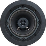 SpeakerCraft ASM52000 AIM Series Profile CRS5.2R 5.25 In-Ceiling Speaker - White Grill (Each)