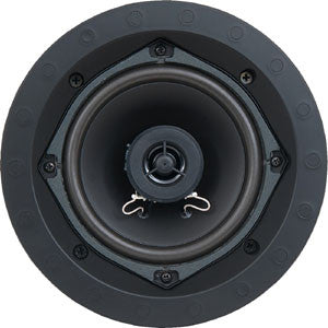 "SpeakerCraft ASM52000 AIM Series Profile CRS5.2R 5.25"" In-Ceiling Speaker - White Grill (Each)"