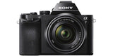Sony Alpha a7 ILCE-7K/B 24.3MP Mirrorless Full Frame Digital Camera with 28-70mm Lens - Black