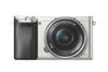 Sony Alpha a6000 24.3 Megapixel Mirrorless Camera with Lens (Body with Lens Kit) - 16 mm - 50 mm - Silver