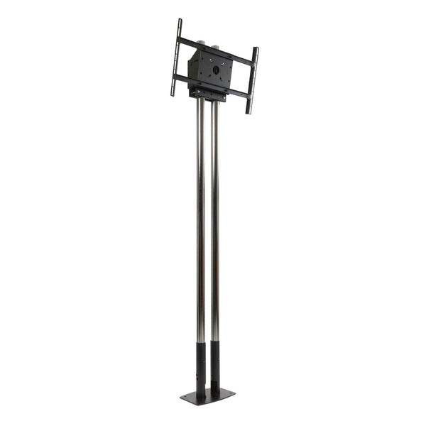"Peerless MOD-FPP2KIT200 Modular Dual Pole Free Standing Kit for 46-90"" Displays"