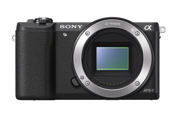 Sony ILCE5100/B Alpha a5100 24.3MP Mirrorless Digital Camera - Black (Body Only)