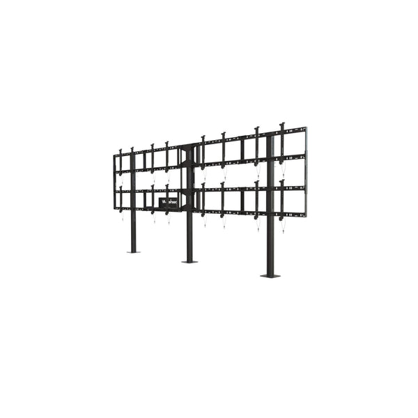 Peerless-AV DS-S555-4X2 Modular Video Wall Pedestal Mount 4x2 for 46-55? Displays