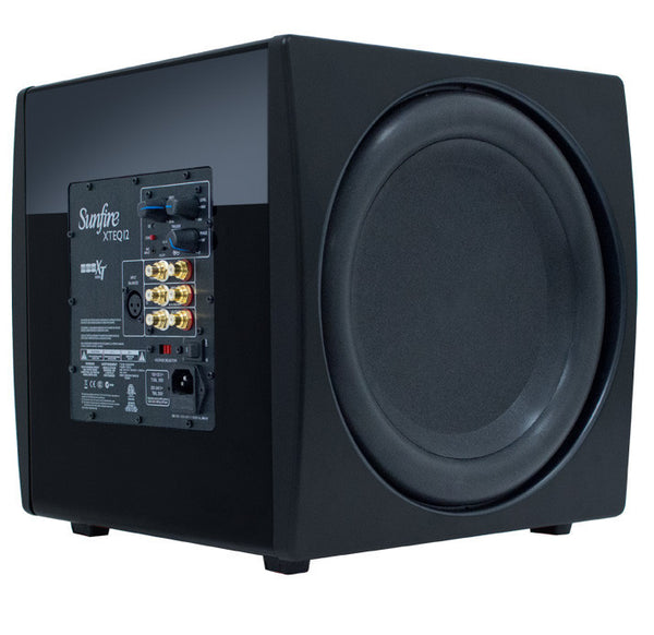Sunfire XTEQ Series XTEQ12 Subwoofer System - 3000 W RMS - High Gloss Black