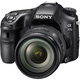 Sony Alpha 77 II ILCA-77M2Q 24.3MP DSLR Camera with 16-50mm Lens - Black