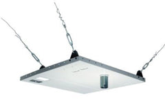 Peerless CMJ453 Two Piece Suspended Ceiling Mount Kit - White