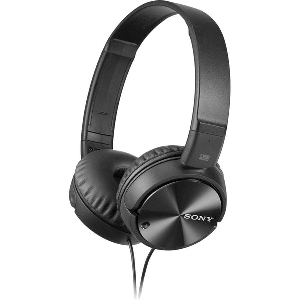 Sony MDR-ZX110NC Noise-Canceling Stereo Headphones - Black