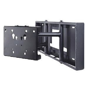 "Peerless SP850P Pull-Out Swivel Wall Mount for 32-80"" Flat Panel Screens - Black"