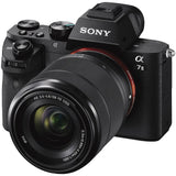 Sony Alpha a7II 24.3MP Mirrorless Digital Camera with FE 28-70mm f/3.5-5.6 OSS Lenss - Black