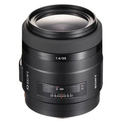Sony SAL-35F14G 35mm f/1.4G Wide Angle Prime Lens