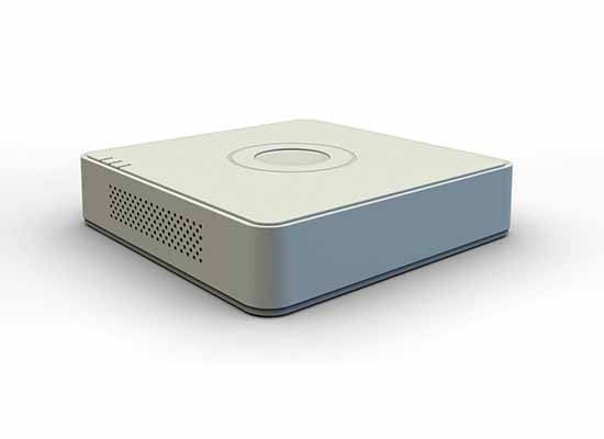 Hikvision DS-7104NI-SL/W Embedded Mini WiFi NVR - White