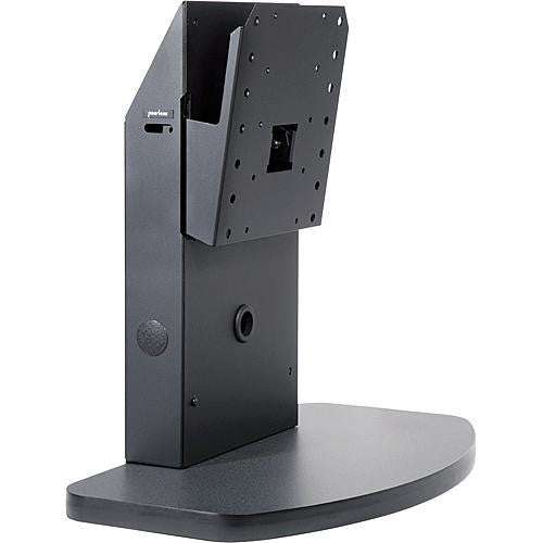 "Peerless PLT-BLK Flat Panel Tabletop Stand for 30"" - 50"" Flat Screens - Black"