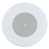 Atlas Sound FD72W 8 Ceiling Mounted Speaker for 25V / 70.7V Operation