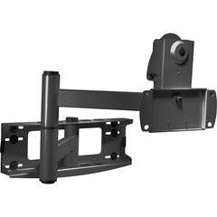 "Peerless PLA50-UNLP Articulating Wall Arm for 32-50"" Flat Panel Screens - Black"