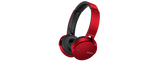 Sony MDRXB650BT/R Extra Bass No Wire Hands Free Bluetooth Headset - Red