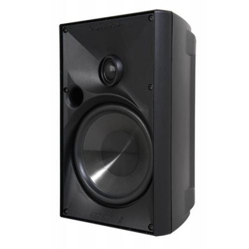 "SpeakerCraft ASM80616 OE6 One 6.25"" Outdoor Speaker - Black (Each)"