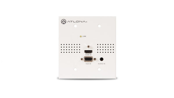 Atlona AT-HDVS-TX-WP-NB Blank Face Plate for HDVS Series Wall Plate Switchers (No Buttons)