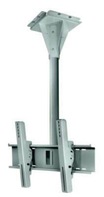 Peerless ECMU-02-I-S 2' Wind Rated I-beam Tilt Mount - Stone Gray