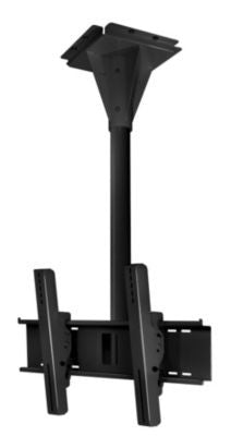 Peerless ECMU-02-I 2' Wind Rated I-beam Tilt Mount - Black