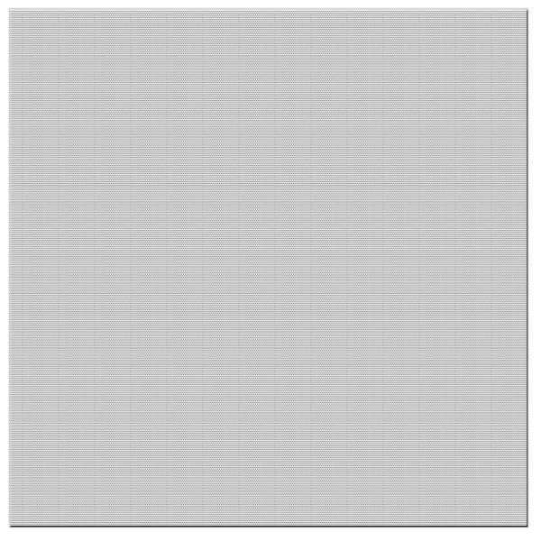 Speakercraft GRL66825E-2 PROFILE AIM5 SQUARE GRILLE: Standard Bright White