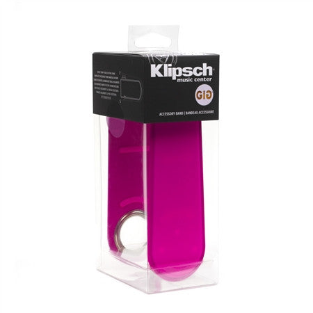 Klipsch GIG BELT Color Band for GiG Portable Speaker - Pink