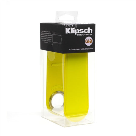 Klipsch GIG BELT Color Band for GiG Portable Speaker - Yellow