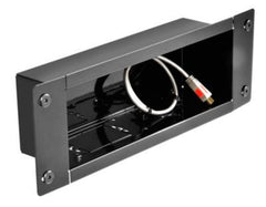 Peerless-AV Recessed Cable Management and Power Storage Accessory Box