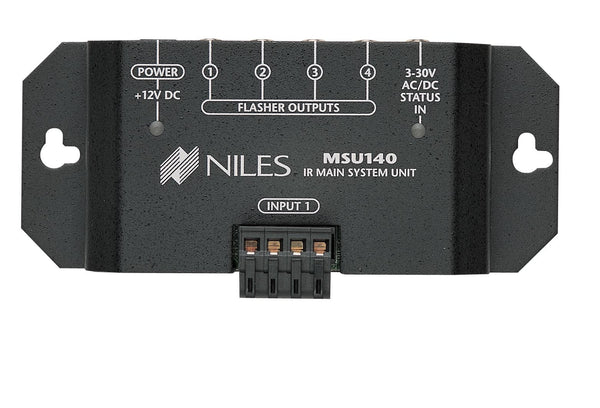 Niles MSU140 IR Repeater Main System Unit for Single Zone One Input Four Flasher Out