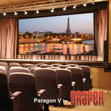 Draper 114617 Paragon/Series V Motorized Projection Screen (147 x 236)