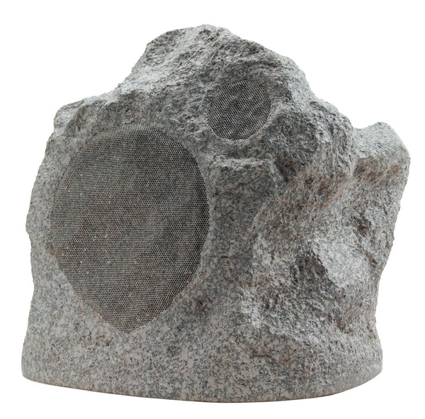 "Niles FG01684 RS5 Pro 5.25"" Outdoor Rock Speaker 100W 2-Way - Speckled Granite (Each)"