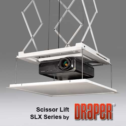 Draper SLX28 Projector Lift with 28' Drop