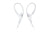 Sony MDR-AS410AP Sport In-ear Headphones with Mic and Over-ear Clip - White