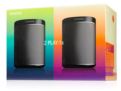Sonos 2 Room Starter Set - Black