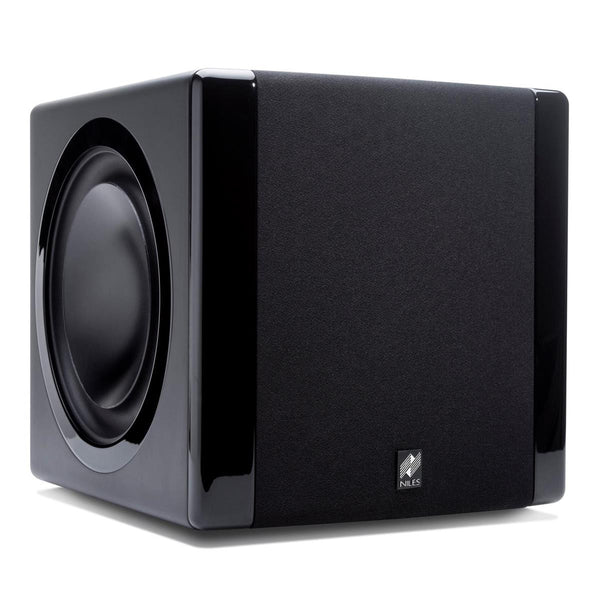 "Niles SW8 8"" Powered Compact Subwoofer - Each (Black)"
