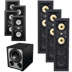 In-Wall Speaker Enthusiast Package