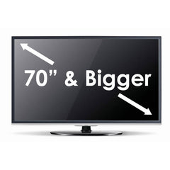 "Installation Option: TV 70"" or Larger"